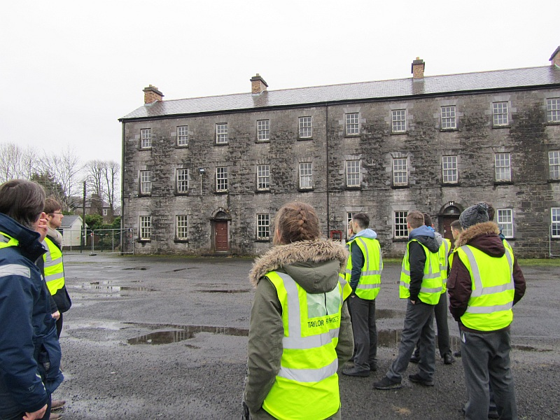 Castlebar Barracks Tour